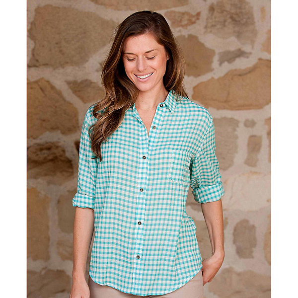 Purnell Checkered Womens Shirt, , 600