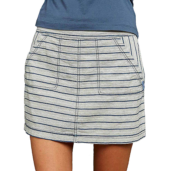 Purnell Striped Denim Skirt, , 600