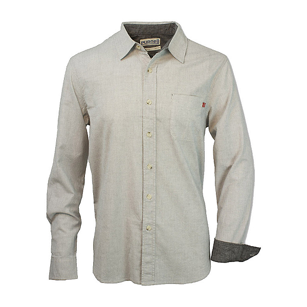 Purnell Pinstripe Button-Up Mens Shirt, , 600