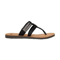 UGG Audra Womens Flip Flops, Black-Bronze, 256