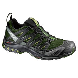 Salomon XA Pro 3D Mens Shoes, Chive-Black-Beluga, 256