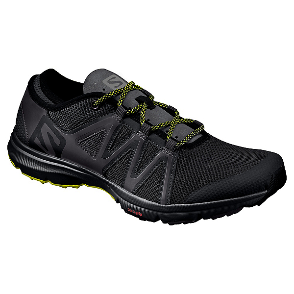 Salomon Crossamphibian Swift Mens Watershoes, Black-Phantom-Sulphur Spring, 600