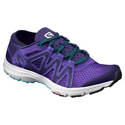 Salomon Crossamphibian Swift Womens Watershoes, Spectrum Blue-Astral Aura-Cera, 256