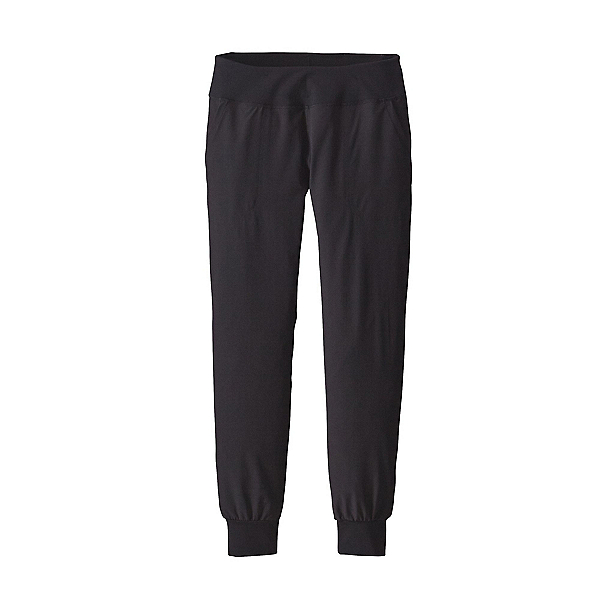 Patagonia Happy Hike Studio Womens Pants, Black, 600