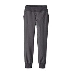 Patagonia Happy Hike Studio Womens Pants, Forge Grey-Forge Grey, 256
