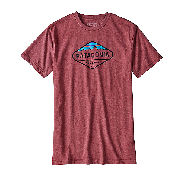 Patagonia Fitz Roy Crest Mens T-Shirt, , 600