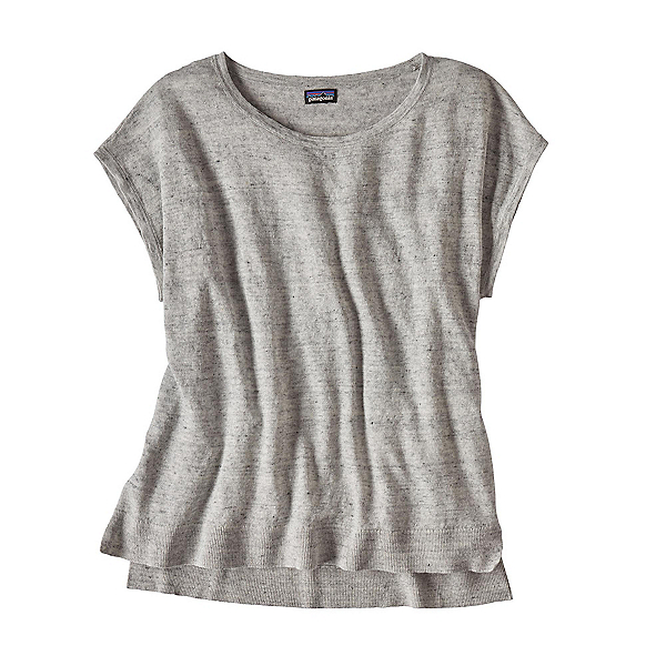 Patagonia Lightweight Linen Top Womens Shirt, Tailored Grey, 600