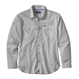 Patagonia Cayo Largo Long Sleeve Mens Shirt, Drifter Grey, 256
