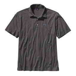 Patagonia Trout Fitz Roy Polo Mens Shirt, Forge Grey, 256