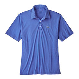 Patagonia Trout Fitz Roy Polo Mens Shirt, Imperial Blue, 256