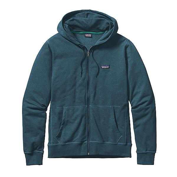 Patagonia Lightweight Full Zip Mens Hoodie, Bay Blue, 600