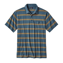 Patagonia Squeaky Clean Polo Mens Shirt, Branch Creek Bay Blue, 256