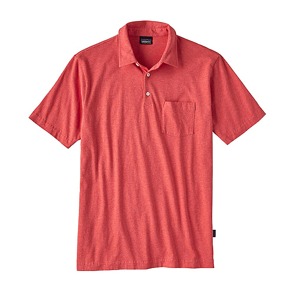 Patagonia Squeaky Clean Polo Mens Shirt, Spiced Coral, 600