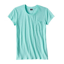 Patagonia Mainstay Womens T-Shirt, Bend Blue, 256
