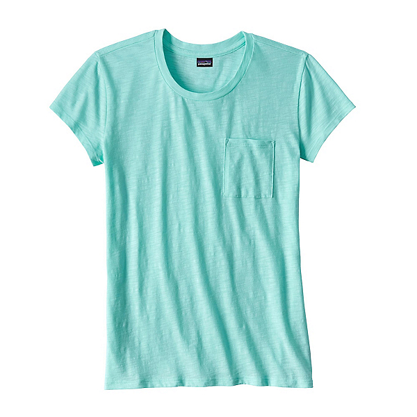 Patagonia Mainstay Womens T-Shirt, Bend Blue, 600