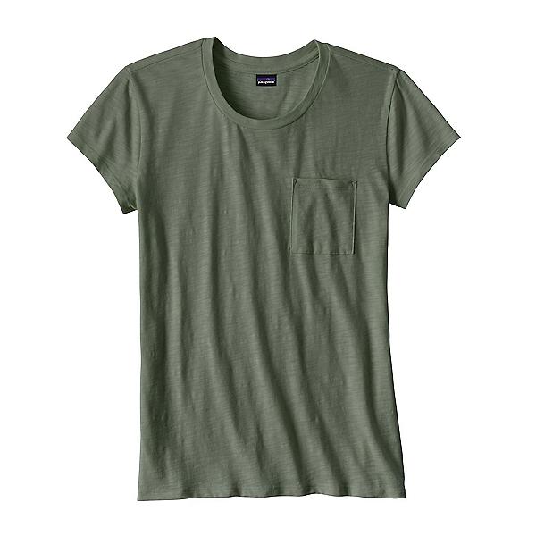 Patagonia Mainstay Womens T-Shirt, Hemlock Green, 600