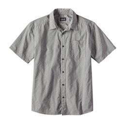 Patagonia Fezzman Slim Mens Shirt, Feather Grey, 256