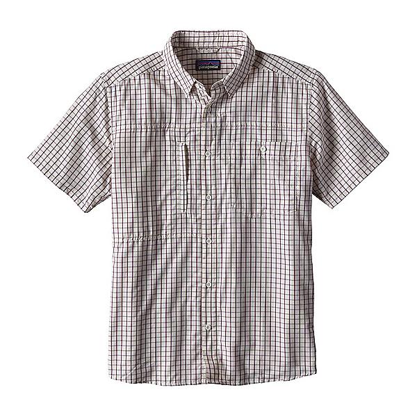 Patagonia Gallegos Mens Shirt, Birch White, 600