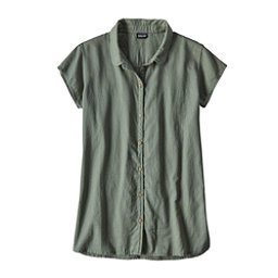 Patagonia Lightweight A/C Womens Shirt, Hemlock Green, 256