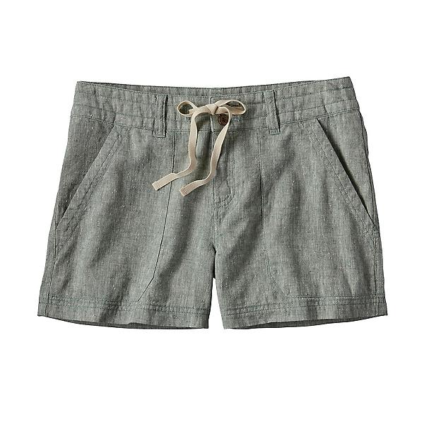 Patagonia Island Hemp Womens Shorts, Hemlock Green, 600