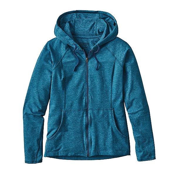 Patagonia Seabrook Womens Hoodie, Big Sur Blue, 600