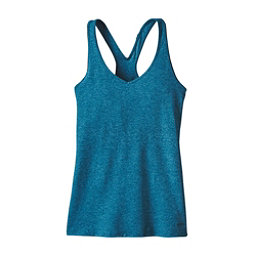 Patagonia Fleur Womens Tank Top, Big Sur Blue, 256