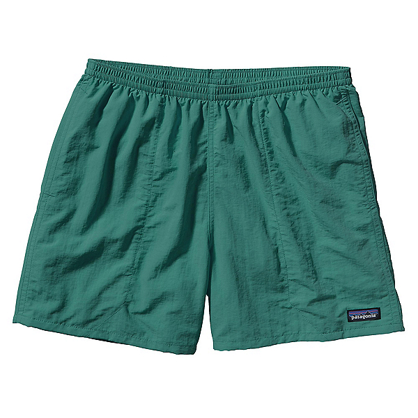 Patagonia Baggies 5in Mens Hybrid Shorts, Gem Green, 600