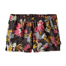 Patagonia Barely Baggies Womens Hybrid Shorts, Cloudbreak-Ink Black, 256