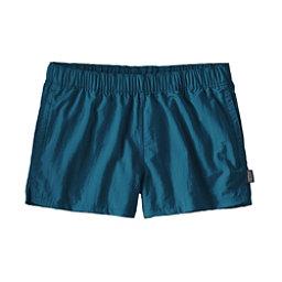 Patagonia Barely Baggies Womens Hybrid Shorts, Big Sur Blue, 256