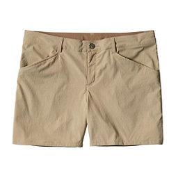 Patagonia Quandary Womens Shorts, El Cap Khaki, 256