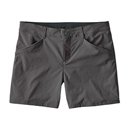 Patagonia Quandary Womens Shorts, Forge Grey, 256