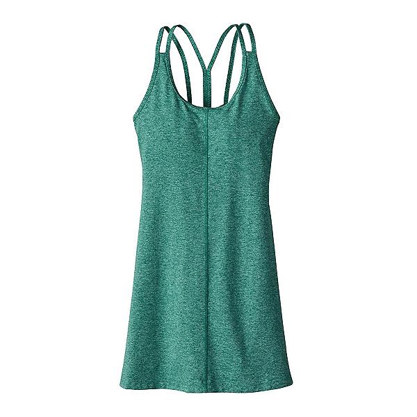 Patagonia Latticeback Dress, Gem Green, 600