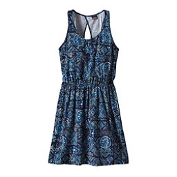 Patagonia West Ashley Dress, Raindrop-Navy Blue, 256