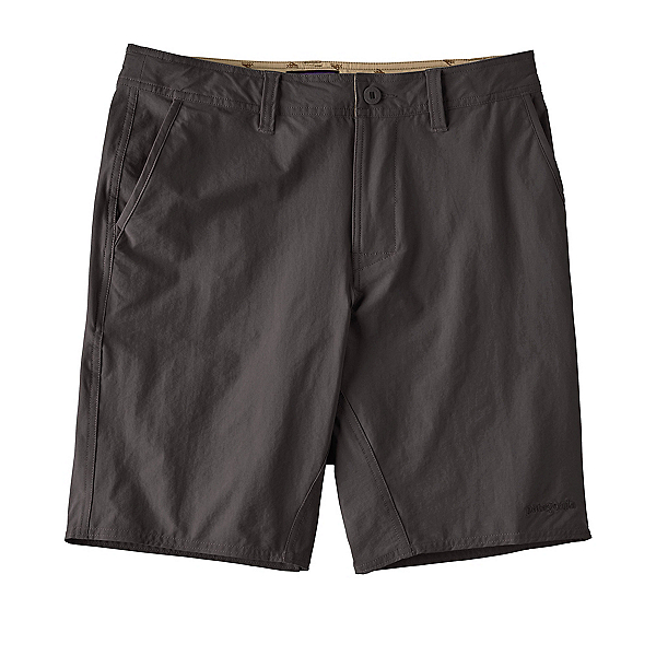Patagonia Stretch Wavefarer Walk Mens Shorts, Ink Black, 600