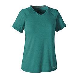 Patagonia Nine Trails Womens T-Shirt, True Teal, 256