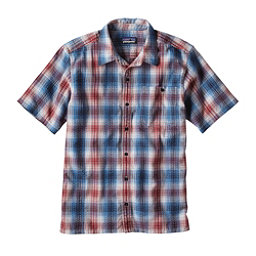 Patagonia Puckerware Mens Shirt, Radar Blue, 256