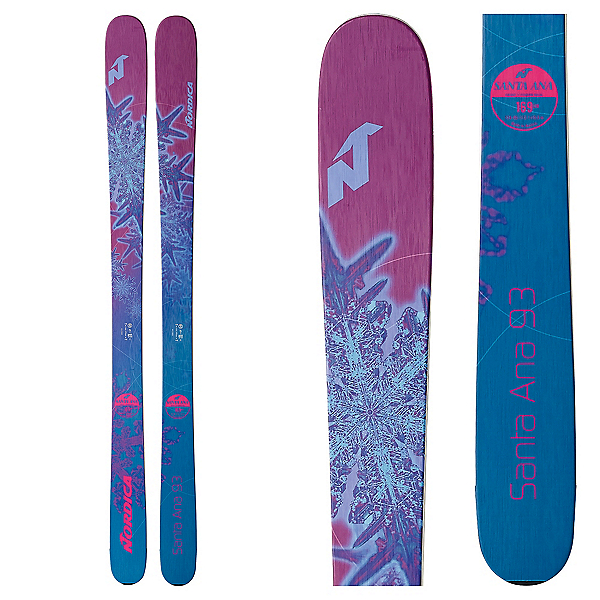 Nordica Santa Ana 93 Womens Skis 2018, , 600
