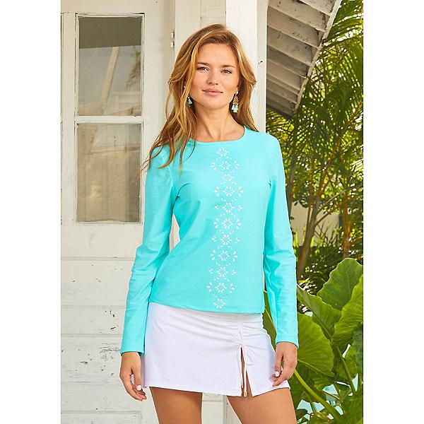 Cabana Life Essentials Swim Skirt, White, 600