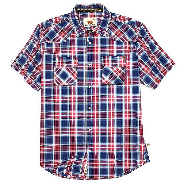 Dakota Grizzly Max Mens Shirt, Garnet, 600
