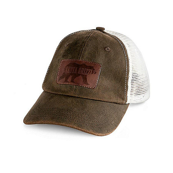 Dakota Grizzly Trucker Hat, Tobacco, 600