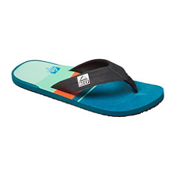 Reef HT Prints Mens Flip Flops, Blue-Red, 256