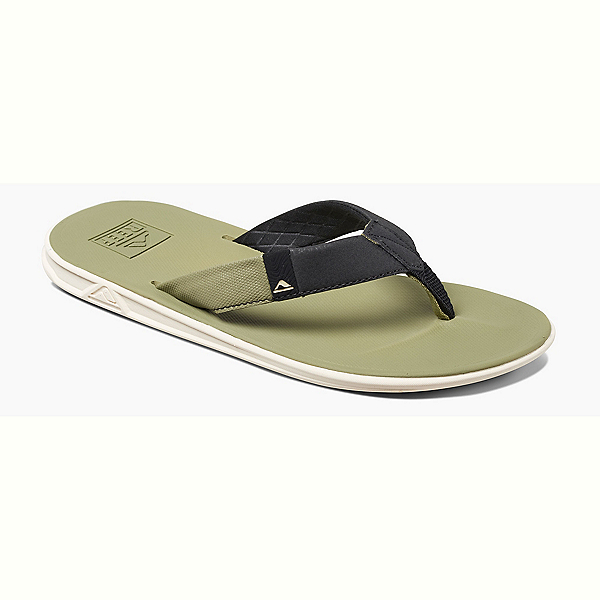 Reef Slammed Rover Mens Flip Flops, Dried Herb, 600