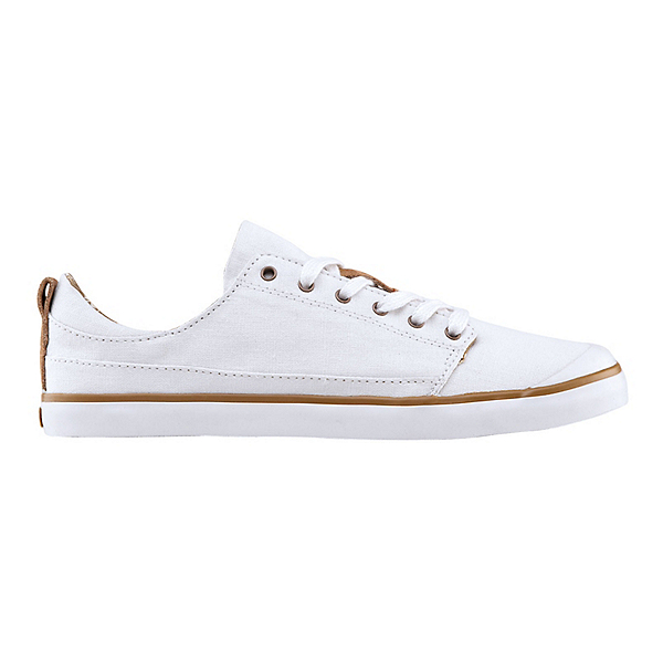 Reef Walled Low Womens Shoes, White, 600