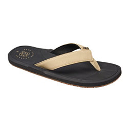 Reef Machado Day Mens Flip Flops, Black-Tan, 256