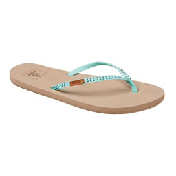 Reef Slim Ginger Stud Womens Flip Flops, Mint, 256