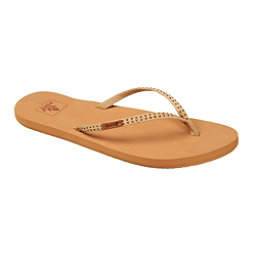 Reef Slim Ginger Stud Womens Flip Flops, Tan, 256