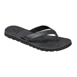 Reef Voyage LE Womens Flip Flops, Black, 256