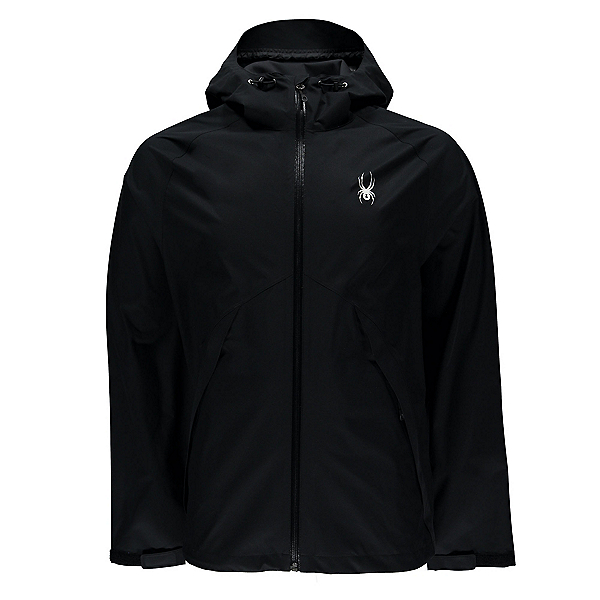 Spyder Pryme Shell Mens Jacket, Black-Black, 600