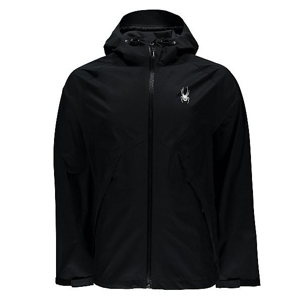 Spyder Pryme Shell Mens Jacket (Previous Season), Black-Black, 600