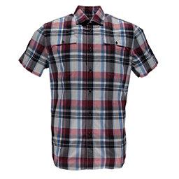 Spyder Crucial Mens Shirt, Red Plaid, 256